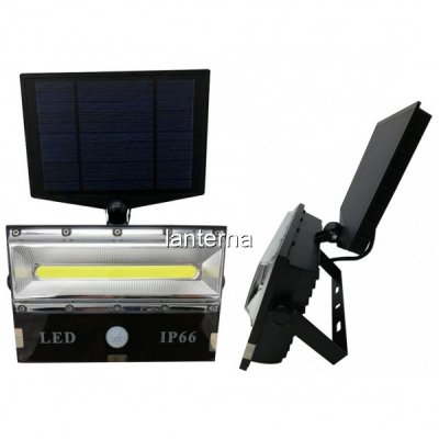 Lampa LED cu Panou Solar, Senzor, 3 moduri de iluminare T8502COB
