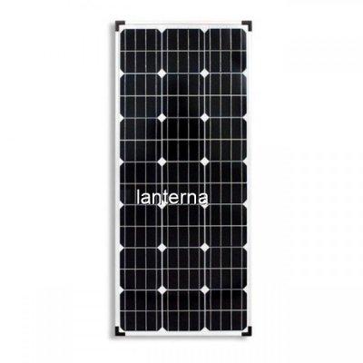 Panou Solar Fotovoltaic 100W 21 Celule 120x54cm Cabluri cu Mufe 12V