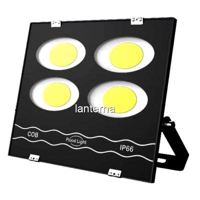 Proiector Ultra Slim 4x50W COB LED Rotund Mare 200W Alb Rece 220V IP66