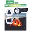 Kit Solar cu Lanterna LED 3W si Bec Led SMD CL038