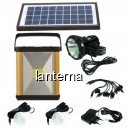 Kit Solar Lanterna LED, Frontala, 2 Becuri, 6V4Ah GDLite GD8032