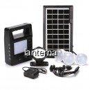 Kit Solar Lanterna LED, Frontala, USB, 3 Becuri, 4V GDPLUS GD8213