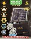 Kit Solar Mobil de Iluminat si Incarcare cu Acumulator 12V 7Ah GD8012B
