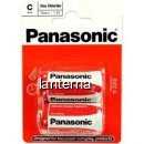 Panasonic baterii r14 c zinc carbon 2 buc. la blister
