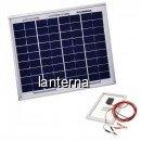 Panou Solar Fotovoltaic 20W 36 Celule 45x36cm Cablu Clesti 12V