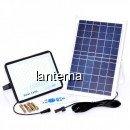 Proiector LED 300W 6500K IP67 cu Panou Solar si Telecomanda LPS300241