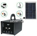Sistem Alimentare Portabila cu Panou Solar si Acumulator 12V 7Ah DAT AT1207A